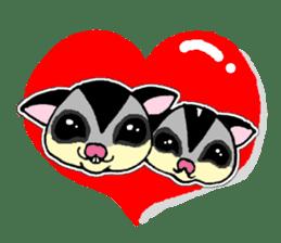 I love Sugar Glider sticker #953661