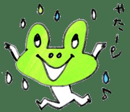 Dear frog 001 sticker #953814
