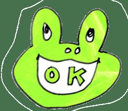 Dear frog 001 sticker #953815