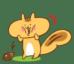 The little squirrel sticker #954065