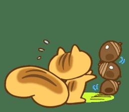 The little squirrel sticker #954075