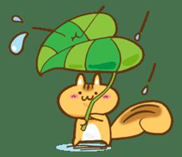 The little squirrel sticker #954082