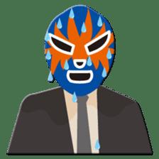 Go for it ! Wrestler office worker sticker #954455