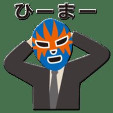 Go for it ! Wrestler office worker sticker #954458