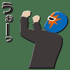 Go for it ! Wrestler office worker sticker #954468