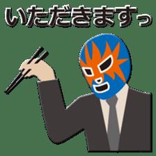 Go for it ! Wrestler office worker sticker #954475