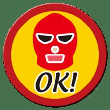 Go for it ! Wrestler office worker sticker #954479
