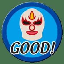 Go for it ! Wrestler office worker sticker #954481
