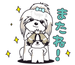 Shih Tzu Stamp2 sticker #955737