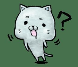 Maybe cat Sticker sticker #956087