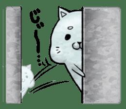 Maybe cat Sticker sticker #956091