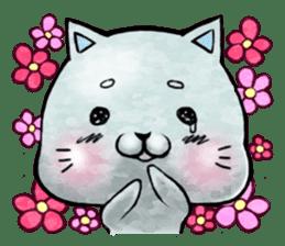 Maybe cat Sticker sticker #956092