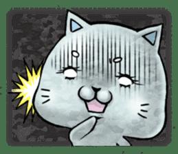 Maybe cat Sticker sticker #956093