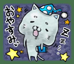 Maybe cat Sticker sticker #956098