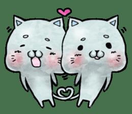Maybe cat Sticker sticker #956101
