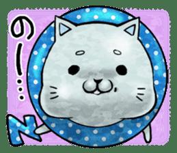 Maybe cat Sticker sticker #956103