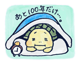 parent and child of a tortoise sticker #956540