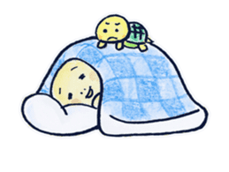 parent and child of a tortoise sticker #956565