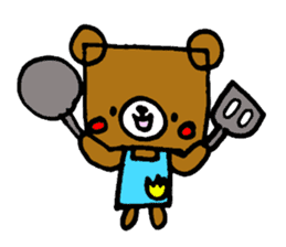 Square Kuma-kun sticker #957451