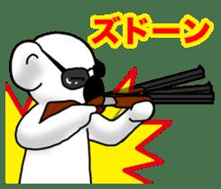 White koala returns sticker #960060