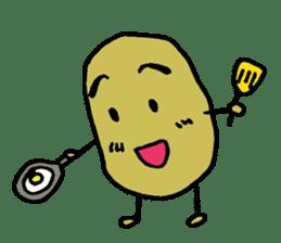 Mr Potato sticker #960554