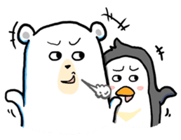 Cute Yeti & Friends sticker #961293