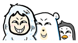 Cute Yeti & Friends sticker #961305