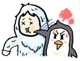 Cute Yeti & Friends sticker #961308