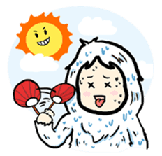 Cute Yeti & Friends sticker #961312