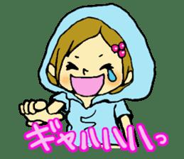 very cute girls sticker #961813