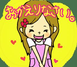 very cute girls sticker #961817