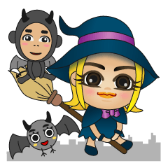 And witch and demon and bat
