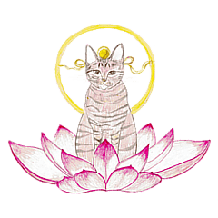 Cat-Happy praise of the Luna Kannon
