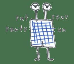Let's Panty Sticker sticker #963274