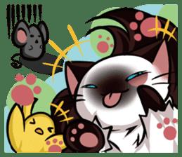 Himalayan Cat - MoBu sticker #963863