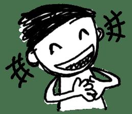 child graffiti sticker #965626