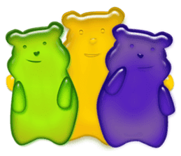 GUMMY BEAR sticker #966850