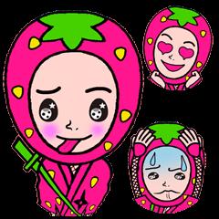 Strawberry ninja