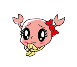 Kanimi chan sticker #969702