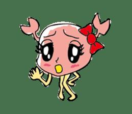 Kanimi chan sticker #969709