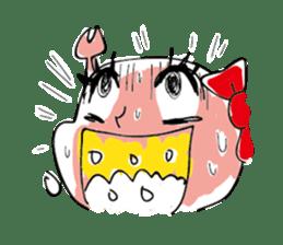 Kanimi chan sticker #969726
