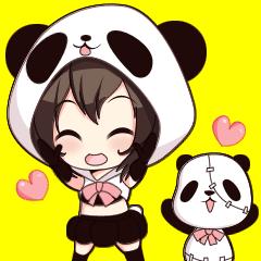 PANDA GIRL [ PAO & FLAN ]