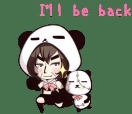 PANDA GIRL [ PAO & FLAN ] sticker #970683
