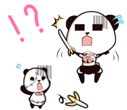 PANDA GIRL [ PAO & FLAN ] sticker #970685