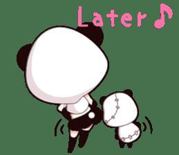 PANDA GIRL [ PAO & FLAN ] sticker #970686