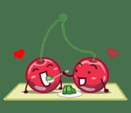 Mr. & Mrs. Cherry sticker #971745