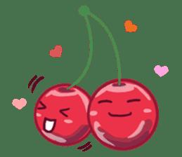 Mr. & Mrs. Cherry sticker #971746