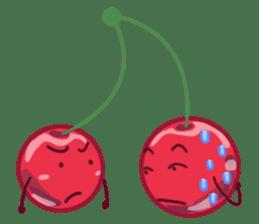 Mr. & Mrs. Cherry sticker #971749