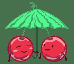 Mr. & Mrs. Cherry sticker #971755