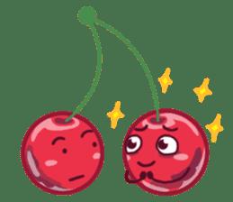 Mr. & Mrs. Cherry sticker #971756